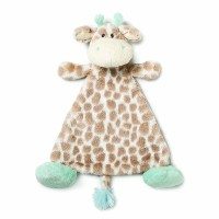 Nat and Jules Blankie Rattle Plush Toy, Colby Giraffe by Nat and Jules [並行輸入品]