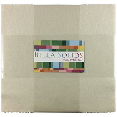 Bella Solids Fig Tree Cream Jr Layer Cake (9900JLC 67) by Moda House Designer for Moda by Moda...