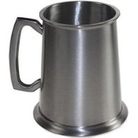 Wentworth Pewter- Antique Finish Pewter Tankard