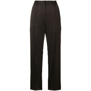 Mm6 Maison Margiela perfectly tailored cropped trousers - ブラウン