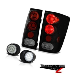 テールライト For 2004-2015 Titan SV NEW Sinister Black Tail Light Lamp Assembly LED DRL Fog 2004年...