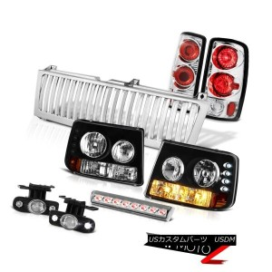 テールライト 00-06 Suburban 6.0L Headlights Euro TailLights Chrome Fog Third Brake LED Grille 00-06郊外6...