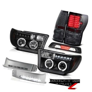 テールライト 07-13 Toyota Tundra Limited Bumper DRL High Stop Light Taillights Headlights SMD 07-13...