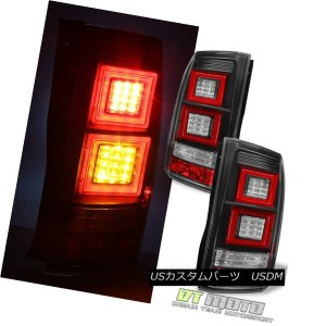 テールライト 2010-2014 Land Rover Discovery IV 4 LR4 BLK LED DRL Tail Light Rear Brake Lamps 2010-2014...