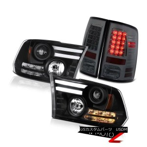 テールライト 09-18 Ram 1500 2500 3500 3.0L Phantom smoke taillamps nighthawk black headlamps 09-18 Ram...