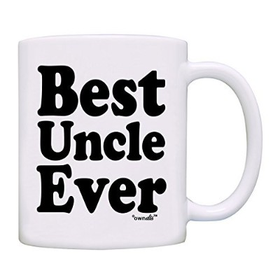 owndis Best Uncle Everギフトコーヒーマグ 11オンス 0043-1