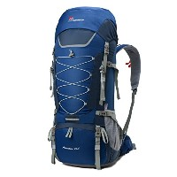 Mountaintop 登山リュック 75L バッグ 旅行 キャンプ バックパック レインカバー付き