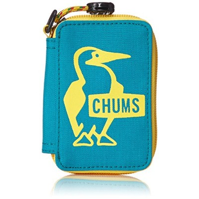 [チャムス]キーケース Eco Key Zip Case Turqouise Isle