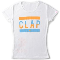 CLAP(クラップ) Number Tシャツ WHITE M