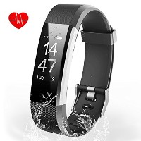Aneken Fitness Tracker、スマートブレスレットTracker with Heart Rate Monitor Activity Tracker Bluetooth歩数計スリープ監視...