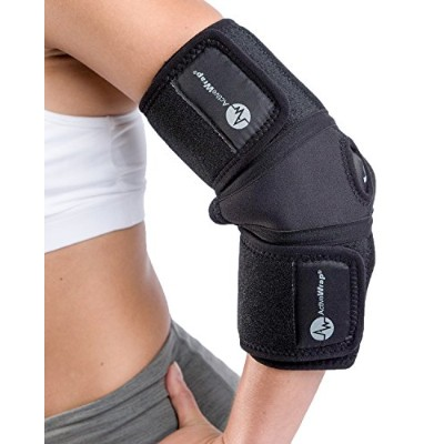 Ice / Heat Elbow Wrap by ActiveWrap (Small/Medium - 10-16 Elbow) by ActiveWrap