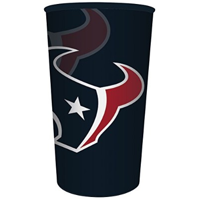 (Souvenir Cups) - Creative Converting Officially Licenced NFL Plastic Souvenir Cups, 20-Count,...