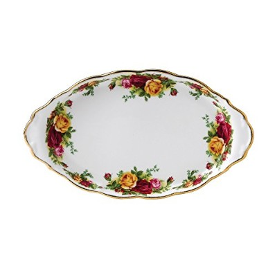Royal Albert Old Country Roses Regal Sugar and Creamer Tray by Royal Doulton