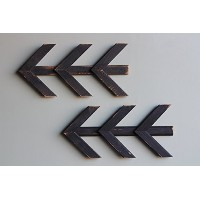 (Black) - Chevron Arrows Amish Handcrafted from Barn Wood in Lancaster, PA Reclaimed, Salvaged by...