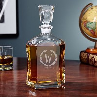 Argos Statesman Personalized Whiskey Decanter (カスタマイズ可能な製品)