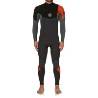 リップカール ウェットスーツ Rip Curl E Bomb 3/2mm Chest Zip Wetsuit Orange