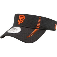 ニューエラ サンバイザー San Francisco Giants Black Adjustable Speed Visor
