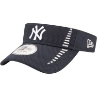 ニューエラ サンバイザー New Era New York Yankees Navy Adjustable Speed Visor