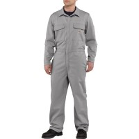 カーハート オーバーオール Carhartt Flame Resistant Traditional Twill Coveralls Gray