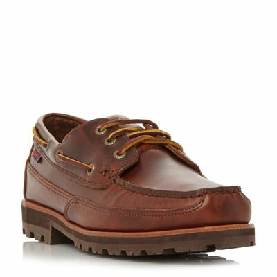 セバゴ デッキシューズ Vershire Cleated Sole Boat Shoes brown