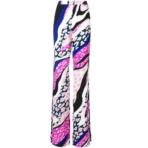 Emilio Pucci high rise tailored trousers - ピンク&パープル