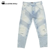 G-STAR RAW ジースターロウ メンズ Raw Essentials Motac-X 3D Relaxed Tapered Jeans (D07381-8595) L32 テ-パ-ド...