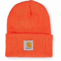 カーハート ニット Carhartt Watch Orange Beanie Bright orange
