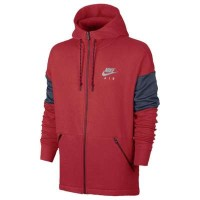 ナイキ パーカー Nike Air Full Zip Hoodie University Red/Thunder Blue/Wolf Grey