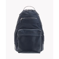 【Theory】Nylon Smooth Lther Backpack 異素材をバランス良く切り替えたバックパック。 ブルー 大人 セオリー