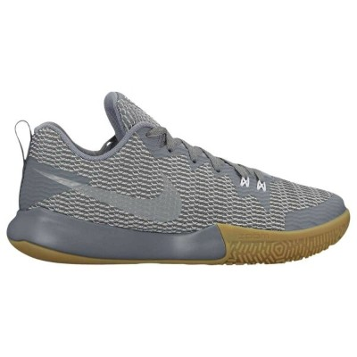 ナイキ メンズ バスケットボール シューズ・靴【Zoom Live II】Cool Grey/Reflective Silver/Pure Platinum/Gum