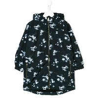 Stella Mccartney Kids Dandy print parka - ブラック