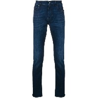 7 For All Mankind Ronnie スキニージーンズ - ブルー