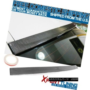 エアロパーツ FIT 11-16 BMW 5 Series F10 3D Design Stylish Roof Spoiler Carbon Fiber Cf FIT 11-16 BMW...