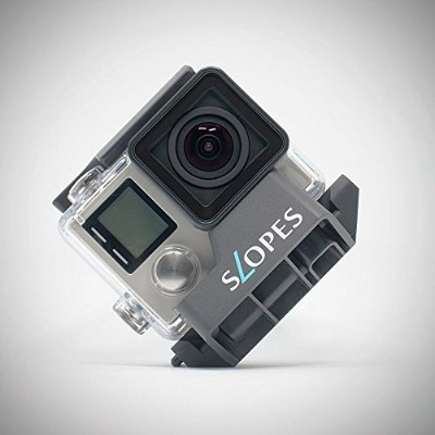 Rogeti Slopes Black instant stand for GoPro housing. GoPro Hero 5,4 3/3+1に対応。18通りのアングルをスピーディにセットできる多...