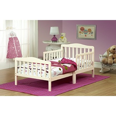 Orbelle Contemporary Toddler Bed, French White by Orbelle