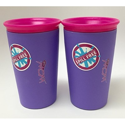 As Seen on TV Wow Cup, Spill-Proof Cup (Purple) Size: Color: Purple, Model: by Wow Gear