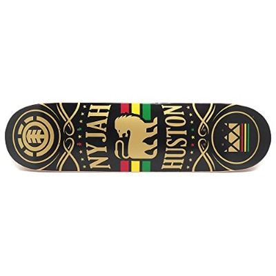 ELEMENT DECK エレメント デッキ NYJAH HUSTON SHINE 8.0 FEATHER LIGHT スケートボード スケボー SKATEBOARD