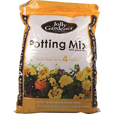 Old Castle Lawn & Garden-Jolly Gardener Premium Potting Mix With Plant Food 2 Cubic Feet