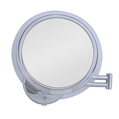 Zadro SW37 Lighted Single Sided Wall-Mount Make-Up Mirror