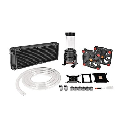 Thermaltake Pacific Gaming R240 D5 Water Cooling Kit 水冷CPUクーラーキット [Intel/AMD両対応] HS1291