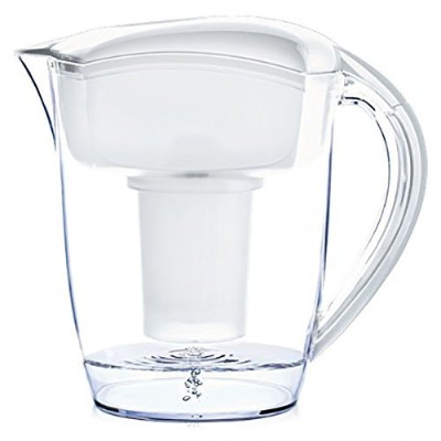 Santevia Water Systems Alkaline Water Pitcher, White by Santevia Water Systems