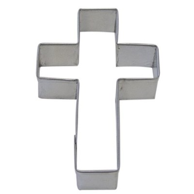 R&M Cross 4 Cookie Cutter in Durable, Economical, Tinplated Steel by CybrTrayd