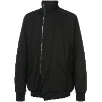 NIL0S high neck zipped jacket - ブラック