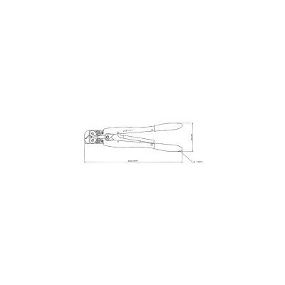TE 409775-1 DOUBLE ACTION HAND TOOL ASSY