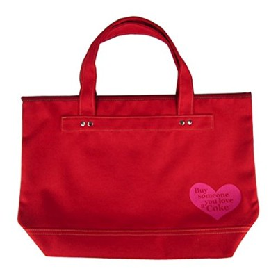 コカコーラ(Coca Cola) Cola r-PET Tote Bag(Hart-RD) 赤 46×47×13cm 0064100-0004