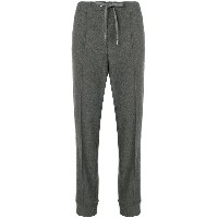 Cambio pleated detail track trousers - グレー