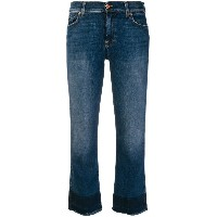 7 For All Mankind クロップド ジーンズ - ブルー