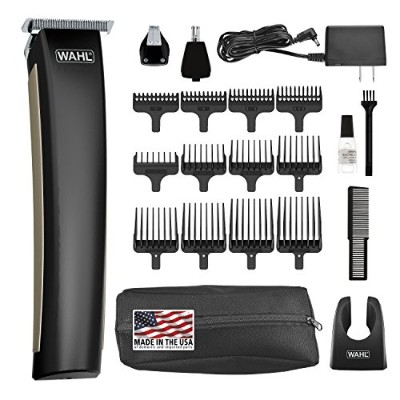 Wahl Clipper Lithium Ion 2.0 Beard Trimmer, rechargeable all in one trimmer for beard, mustache,...
