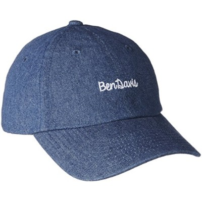 (ベンデイビス) BEN DAVIS BEN DAVIS ORIGINAL LOW CAP BDW-9433A L-DENIM ライトデニム FREE