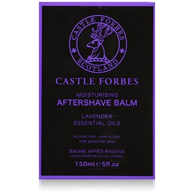 Castle Forbes Lavender Essential Oil Aftershave Balm (150 ml) by Castle Forbes